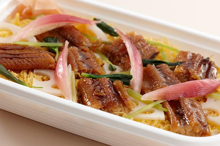 穴子のちらし寿司