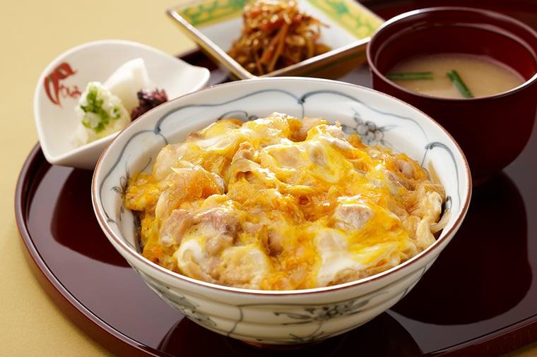 岩手県産地養鶏の親子丼